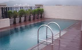 Composiet vlonderplanken zwembad