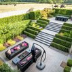 Moderne tuin tuinmeubelen