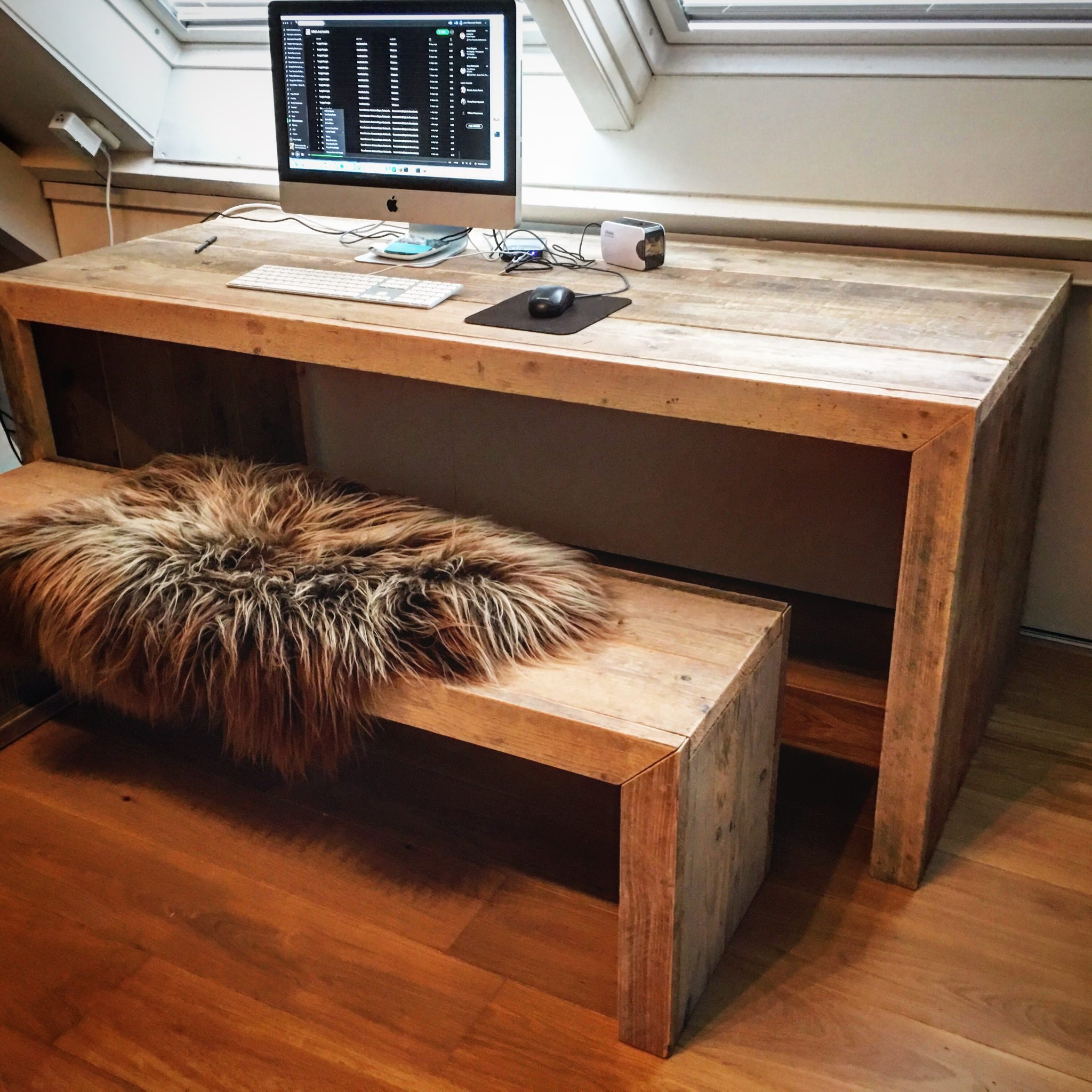 Steigerhout meubelen – indoor & outdoor toepassingen